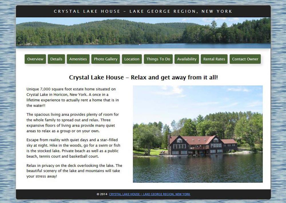 Crystal Lake House, NY