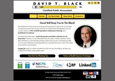 David T. Black, CPA