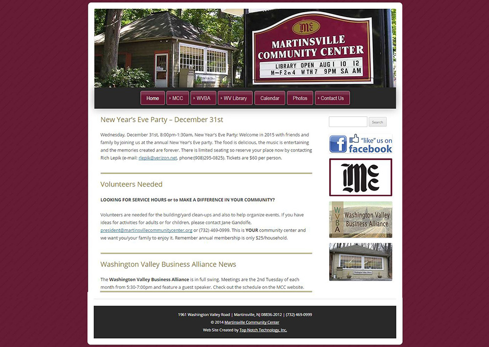 Martinsville Community Center